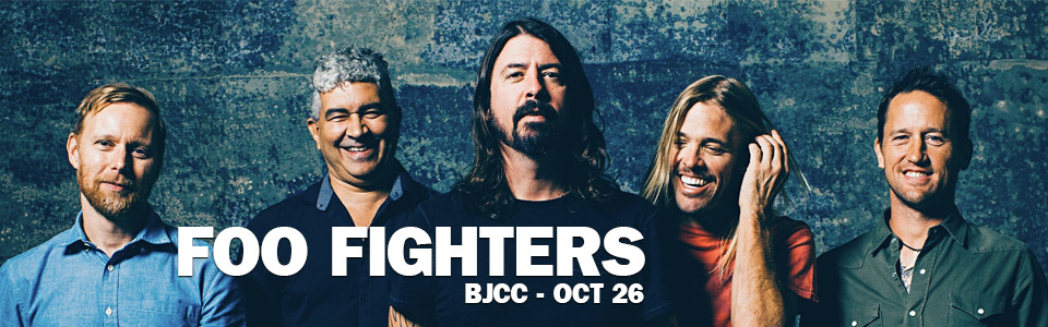 Foo Fighters at the BJCC on October 26