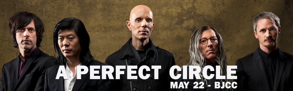 A Perfect Circle at the Legacy Arena in Birmingham on May 22
