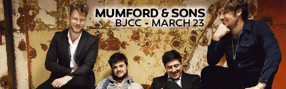 Mumford & Sons at the BJCC on March 23