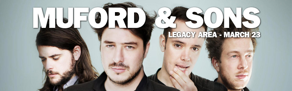 Mumford & Sons at the Legacy Arena on March 23