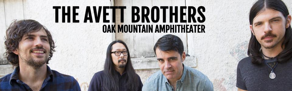 The Avett Brothers at Oak Mountain Amphitheater on October 25